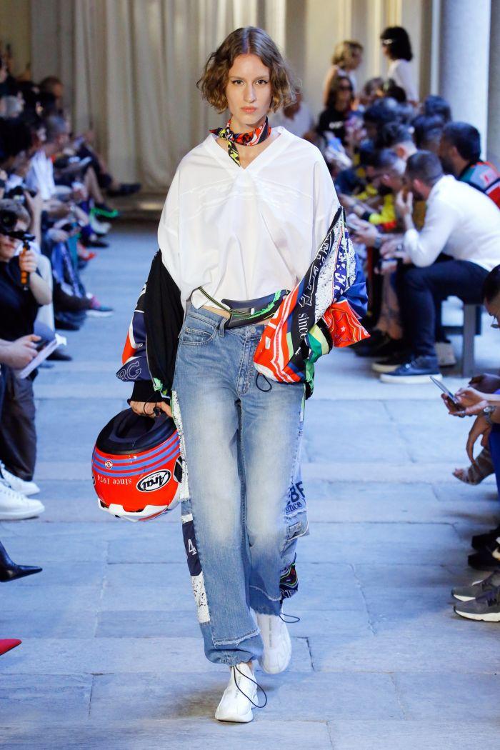 Модные джинсы 2019. Коллекция Iceberg