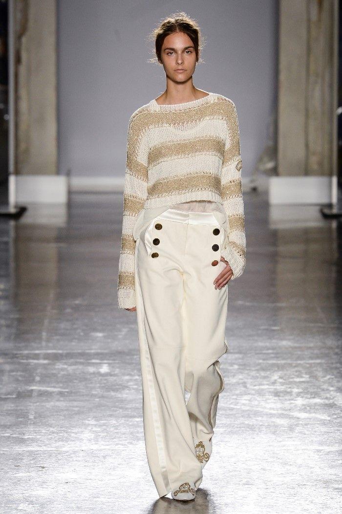 Модные брюки весна-лето 2019 из коллекции Les Copains