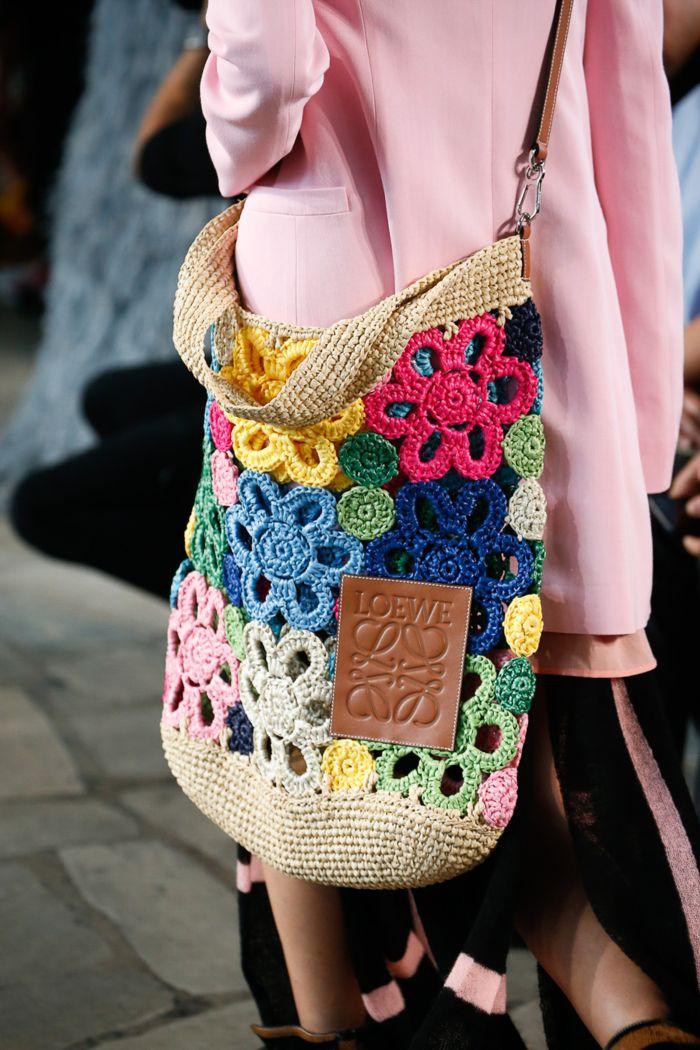 Модная женская сумка 2019 из коллекции Loewe