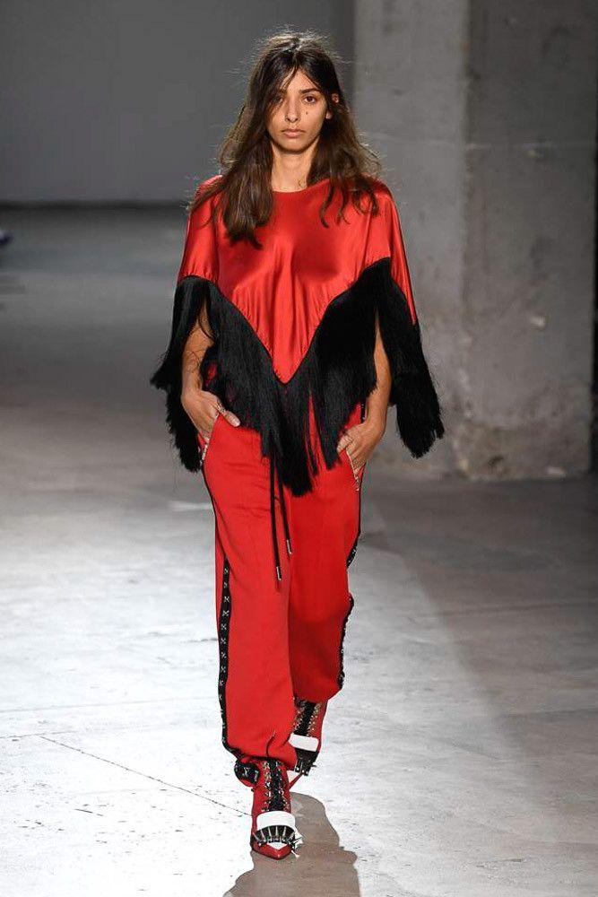 Модные брюки весна-лето 2019 из коллекции Marques'Almeida