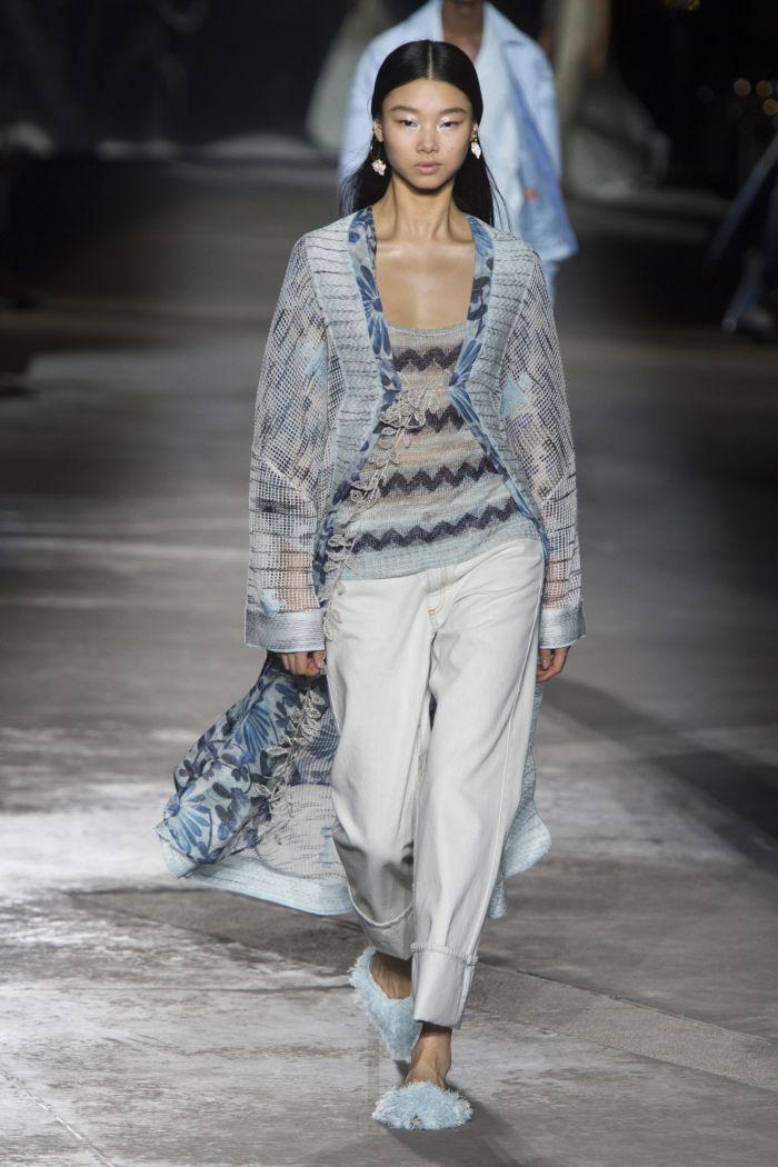 Модные оттенки джинсов Missoni