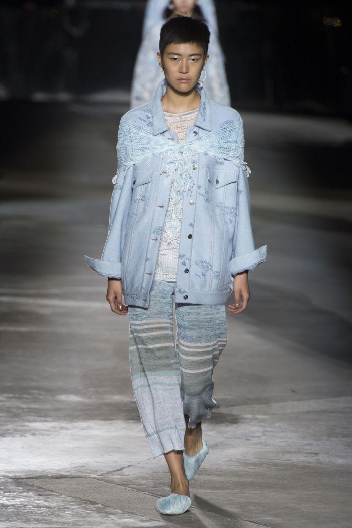 Модная джинсовая одежда Missoni