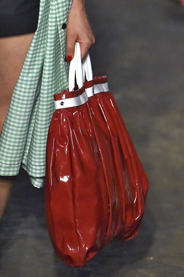 Модная женская сумка 2019 из коллекции Molly Goddard