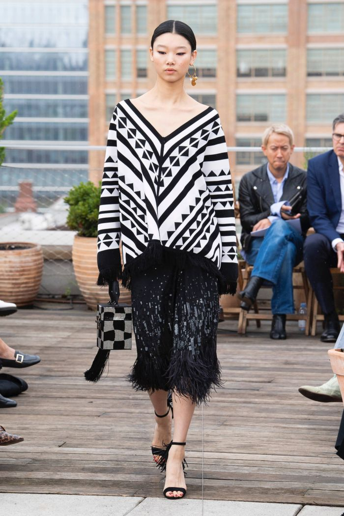 Модные юбки Oscar de la Renta