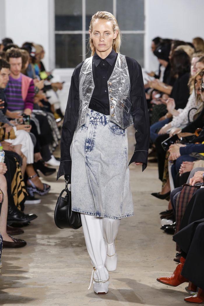 Модная джинсовая одежда Proenza Schouler