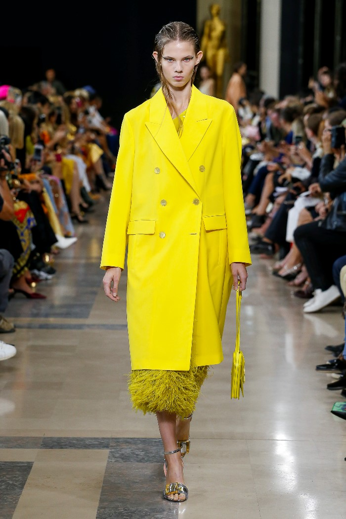 Модное пальто 2019. Коллекция Rochas
