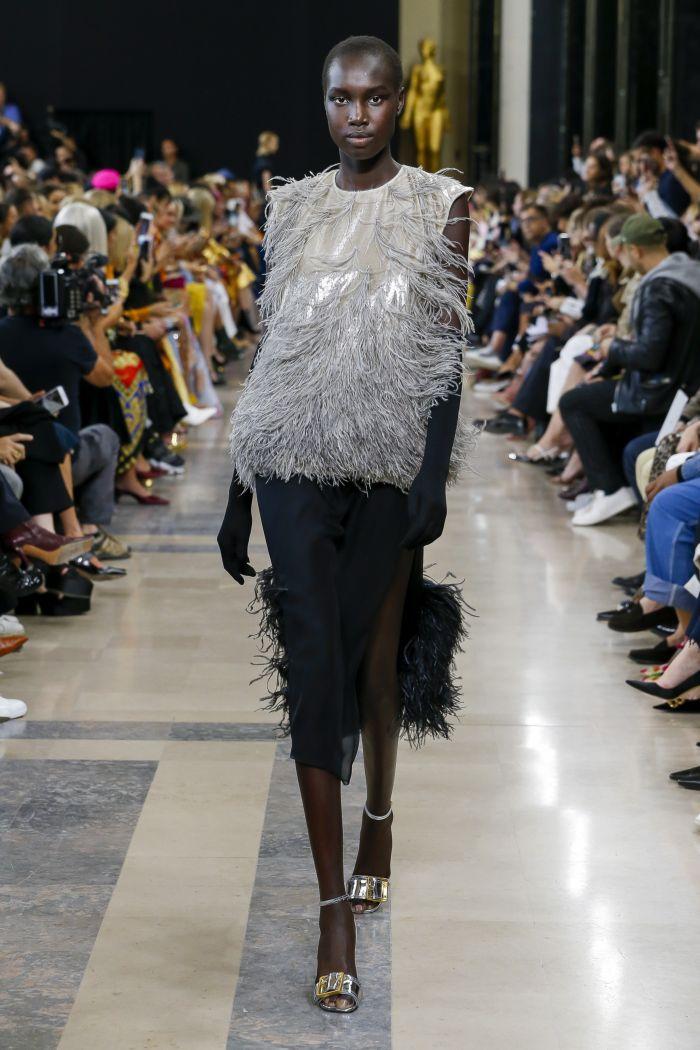 Модные юбки Rochas