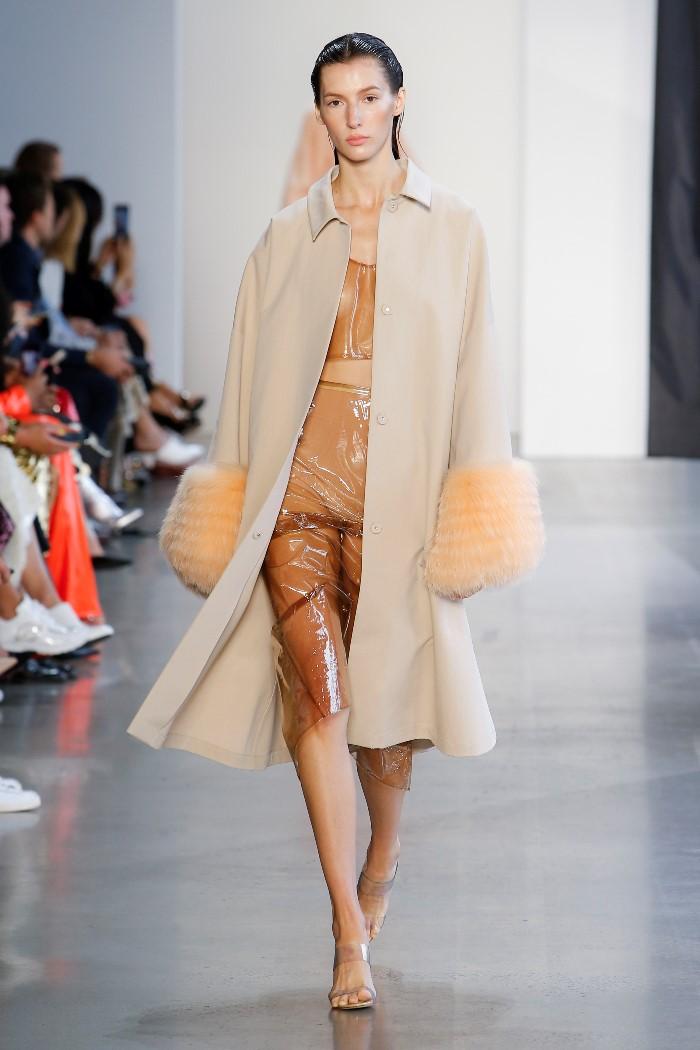 Модное пальто 2019. Коллекция Sally LaPointe