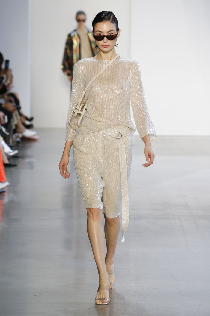 Модные брюки весна-лето 2019 из коллекции Sally LaPointe