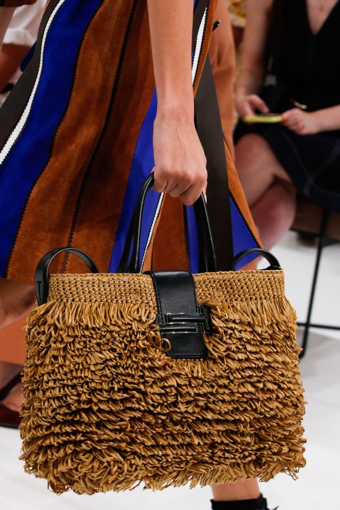Модная женская сумка 2019 из коллекции Tod's