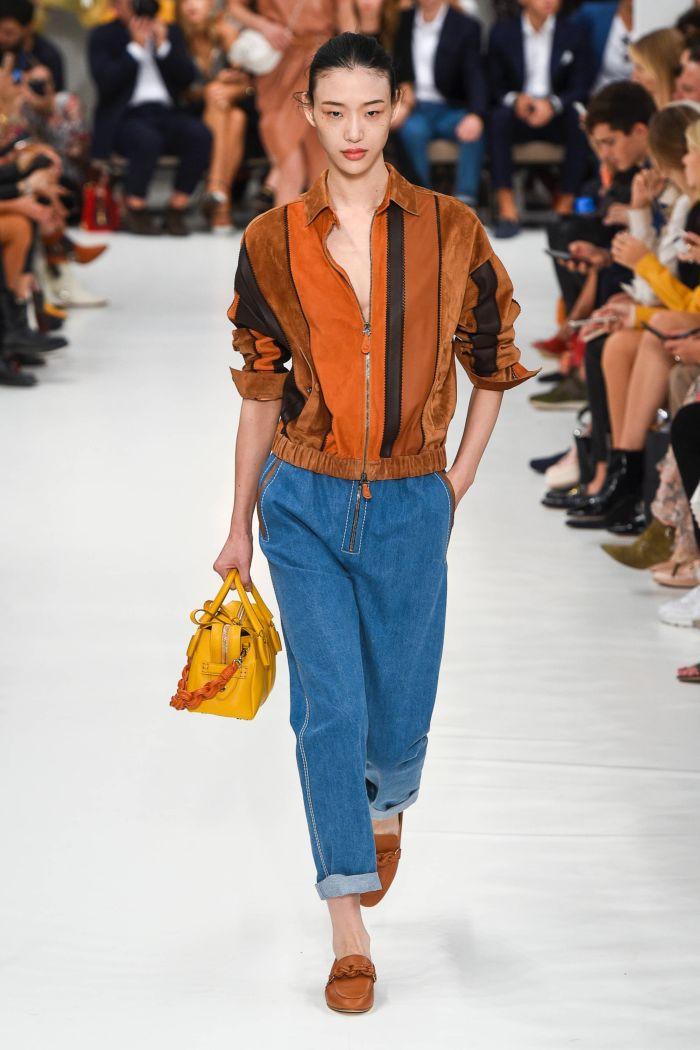 Модные оттенки джинсов Tod's