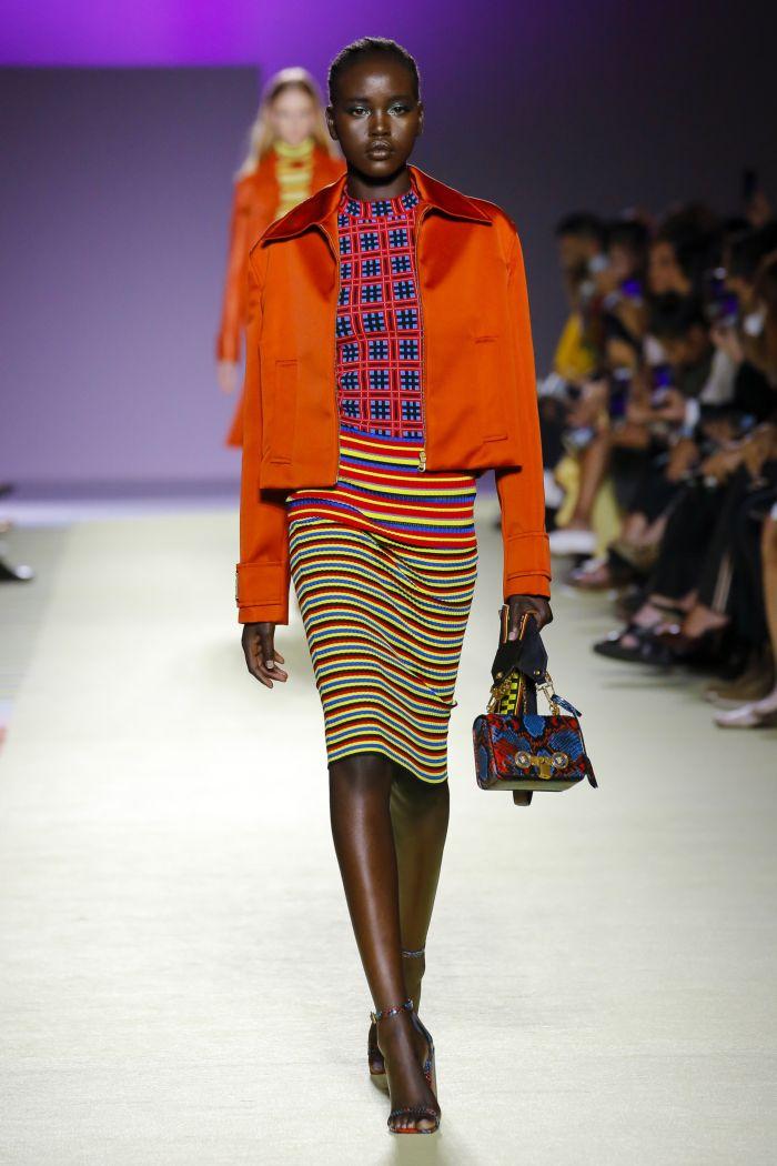 Модная юбка Versace