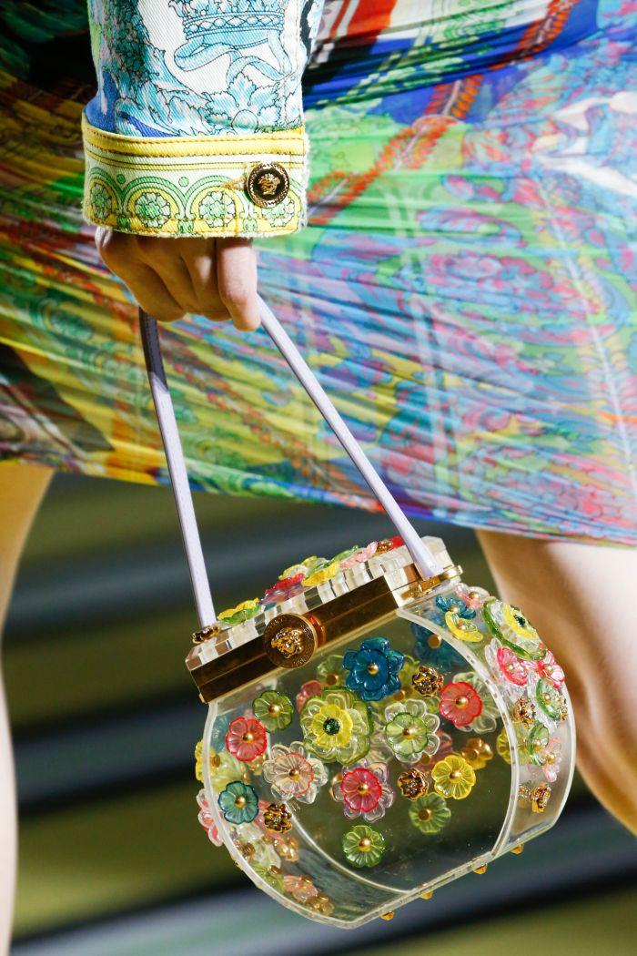 Модная женская сумка 2019 из коллекции Versace