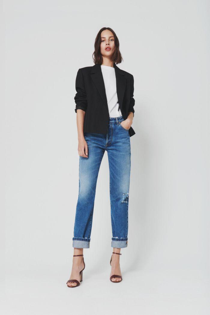 Модные оттенки джинсов Victoria Beckham