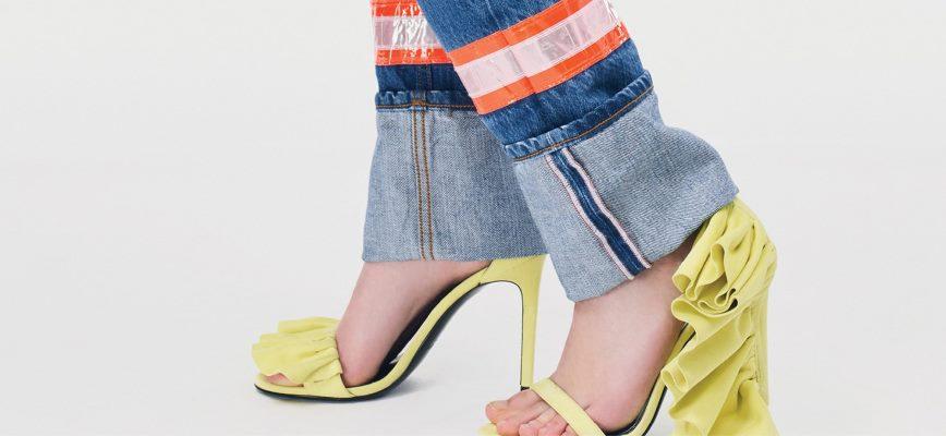 Модные летние босоножки Calvin Klein