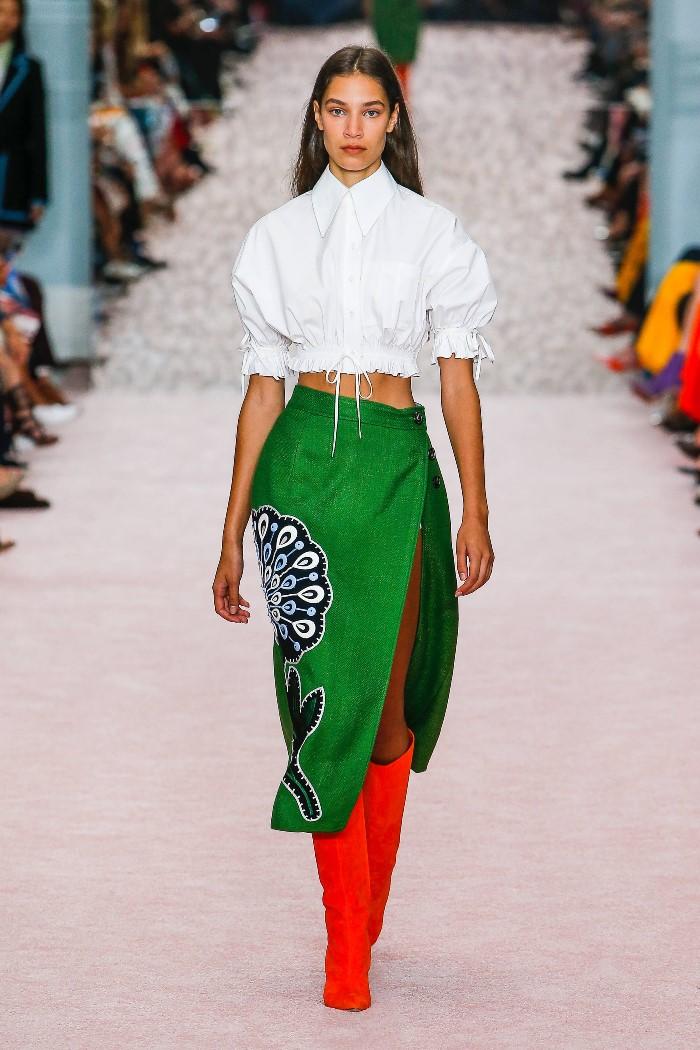 Модные сапоги 2019. Коллекция Carolina Herrera