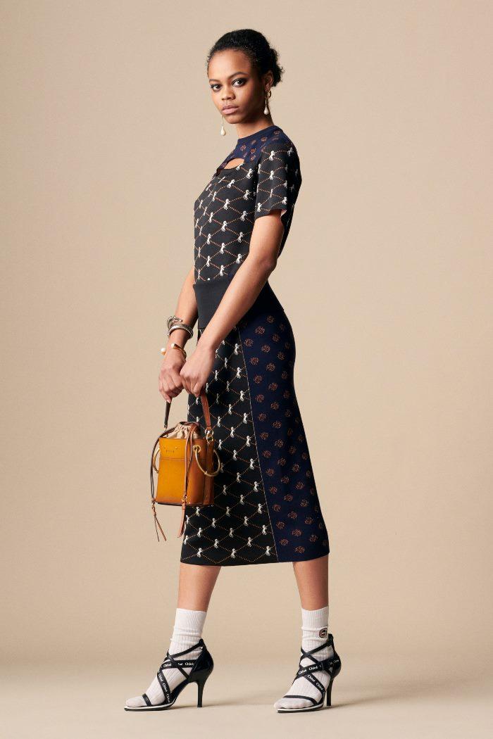Модные летние босоножки Chloé