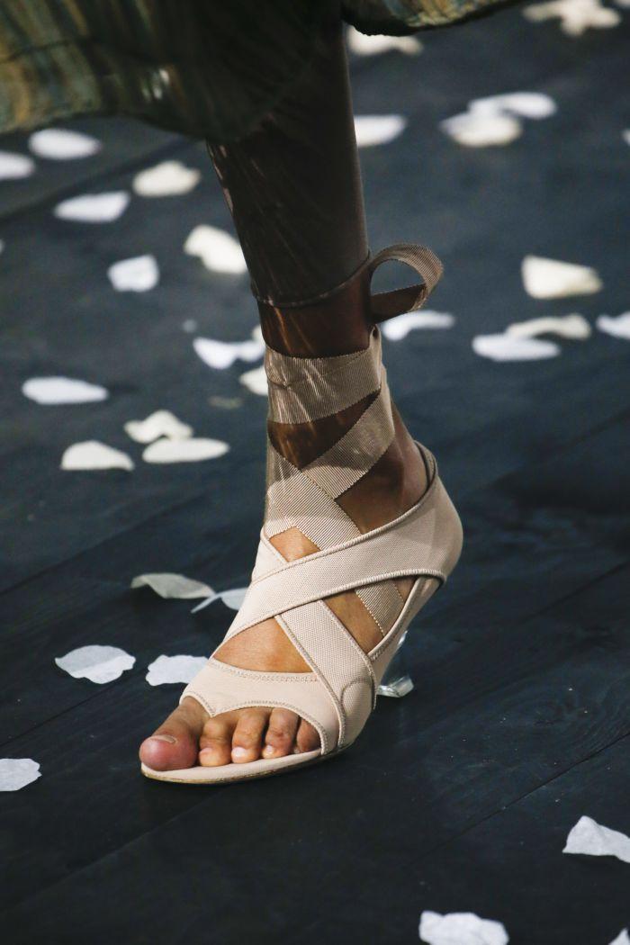 Модные летние босоножки Christian Dior