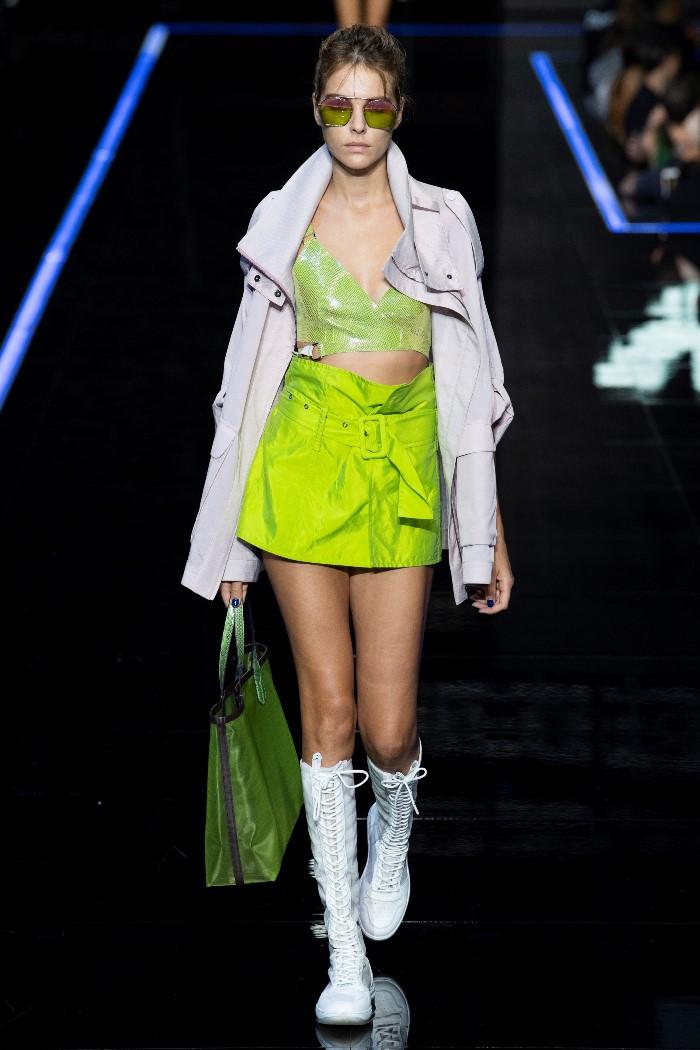 Модные сапоги 2019. Коллекция Emporio Armani