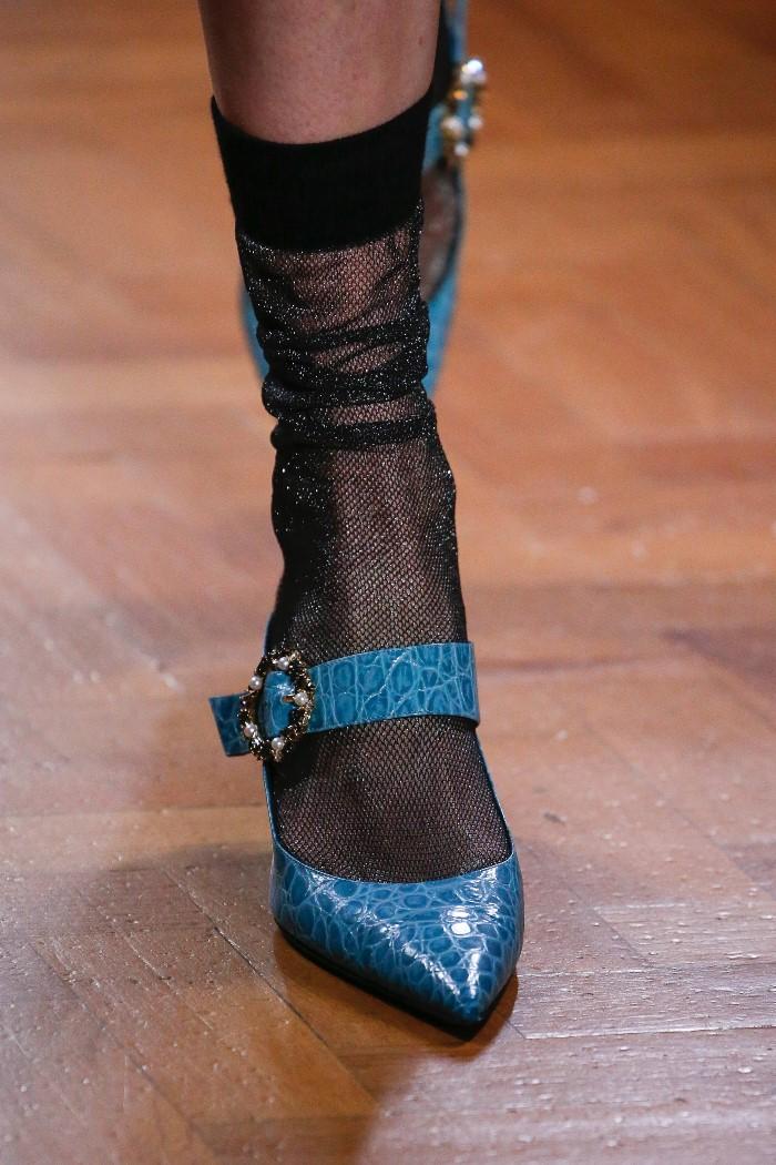 Модные туфли Erdem