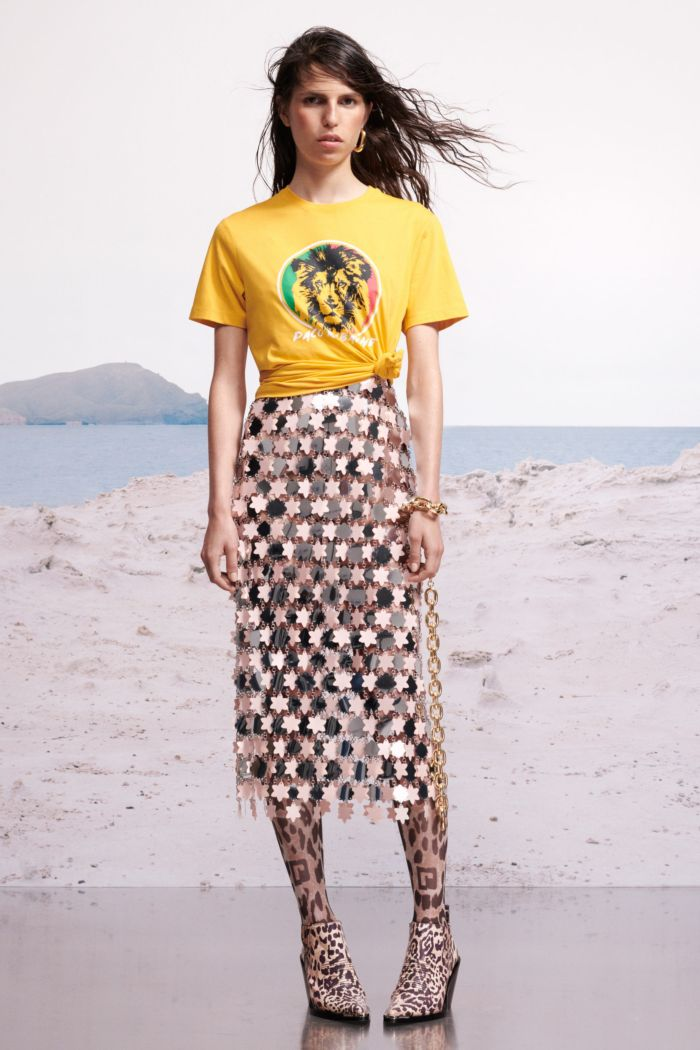 Модная футболка Paco Rabanne