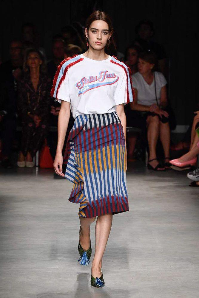 Модная футболка Stella Jean