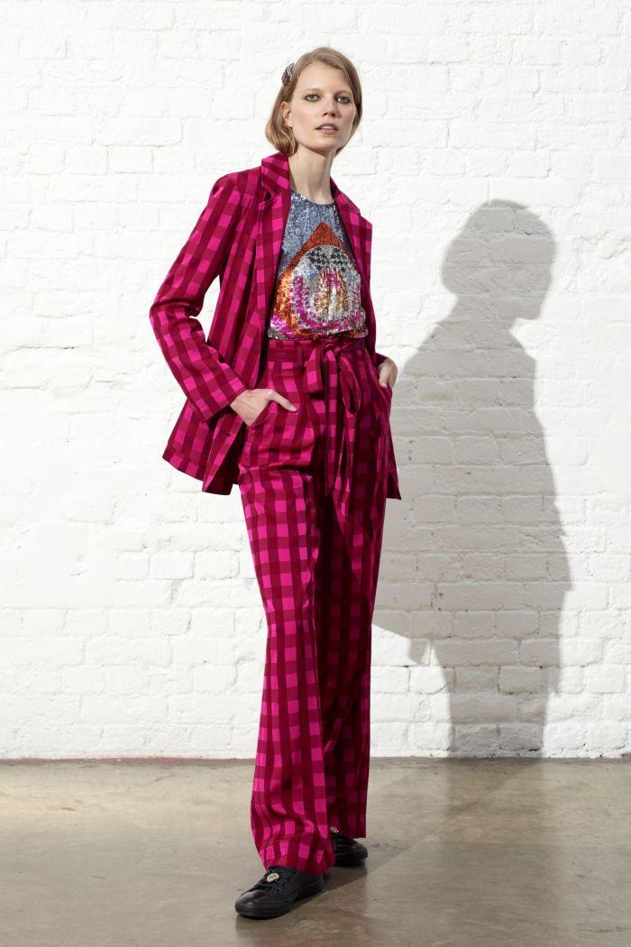 Модный женский костюм Temperley London