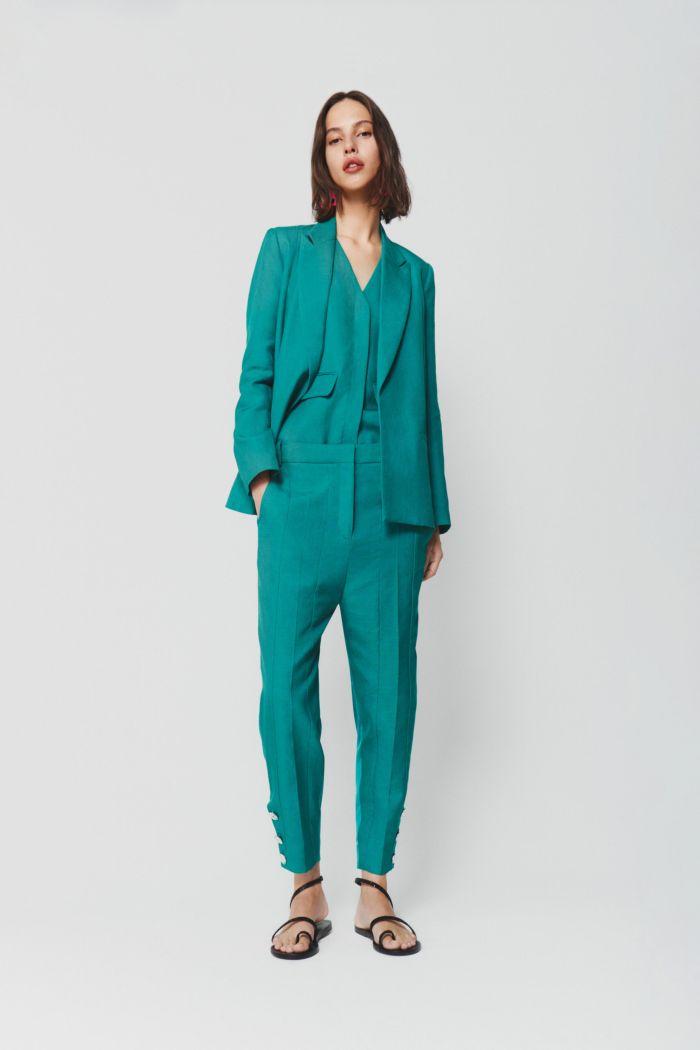 Модный женский костюм Victoria Beckham