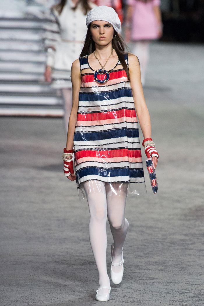 Модное летнее платье 2019. Коллекция Chanel