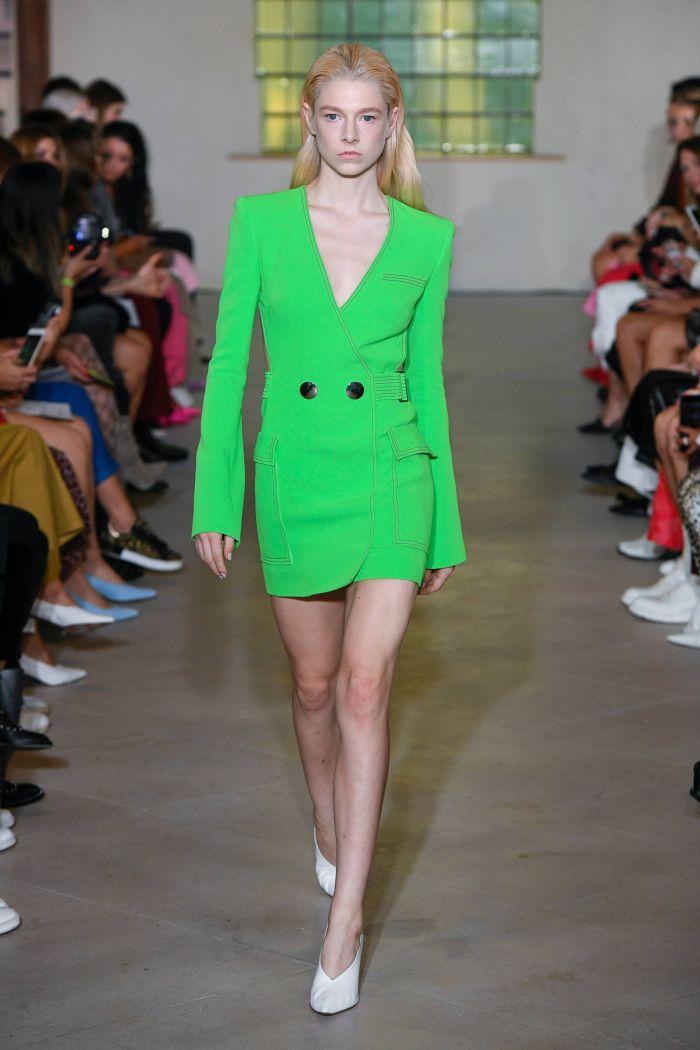 Модный пиджак David Koma