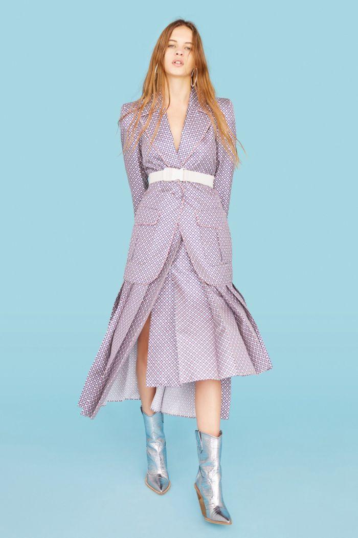 Модный пиджак Fendi