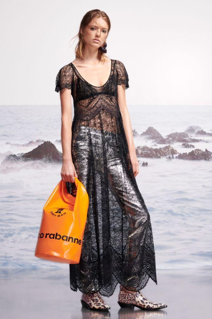 Модное летнее платье 2019. Коллекция Paco Rabanne