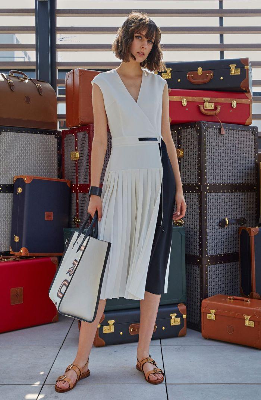 Модное летнее платье 2019. Коллекция Trussardi