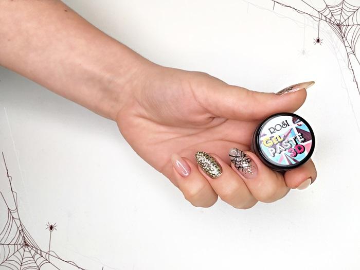Гель-паста паутинка для дизайна ногтей