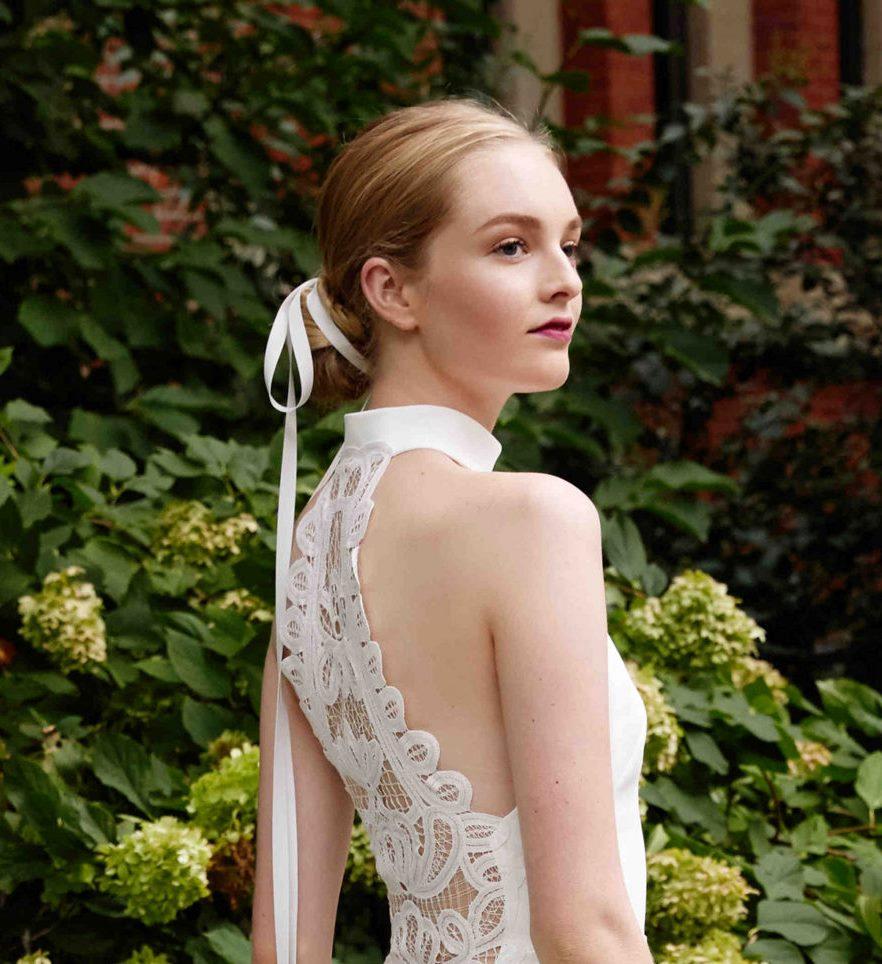 Свадебная прическа Lela Rose