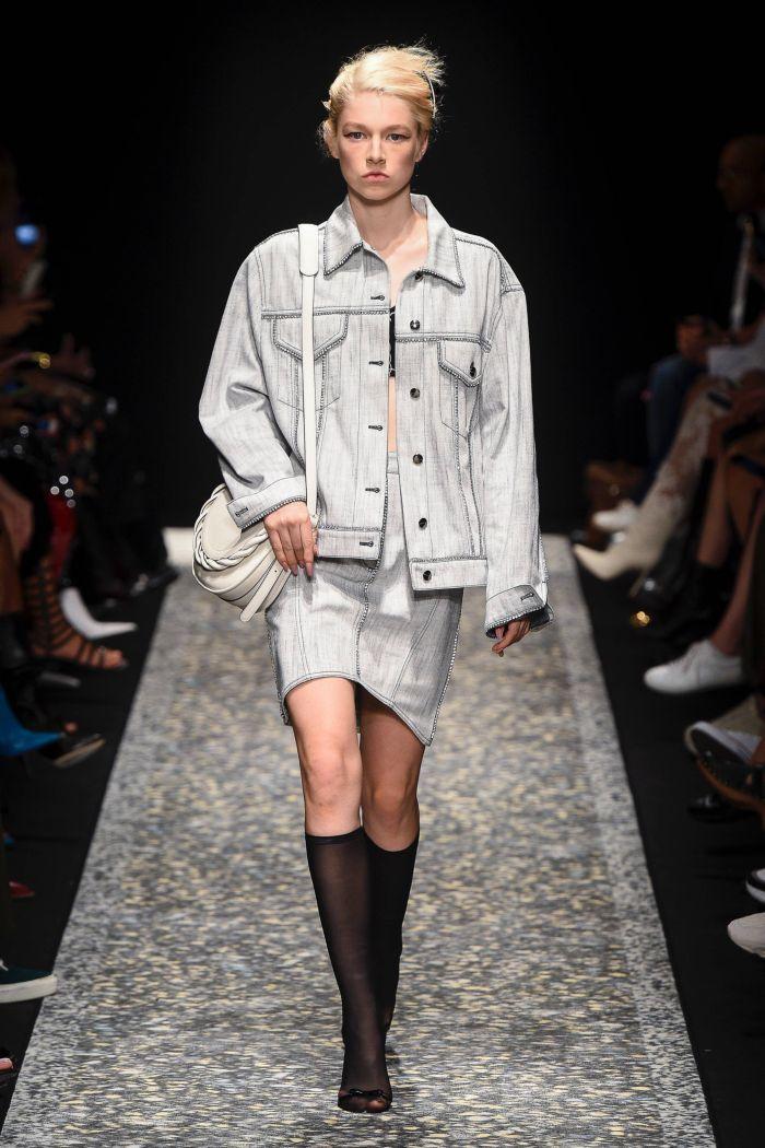 Джинсовая юбка Marco de Vincenzo