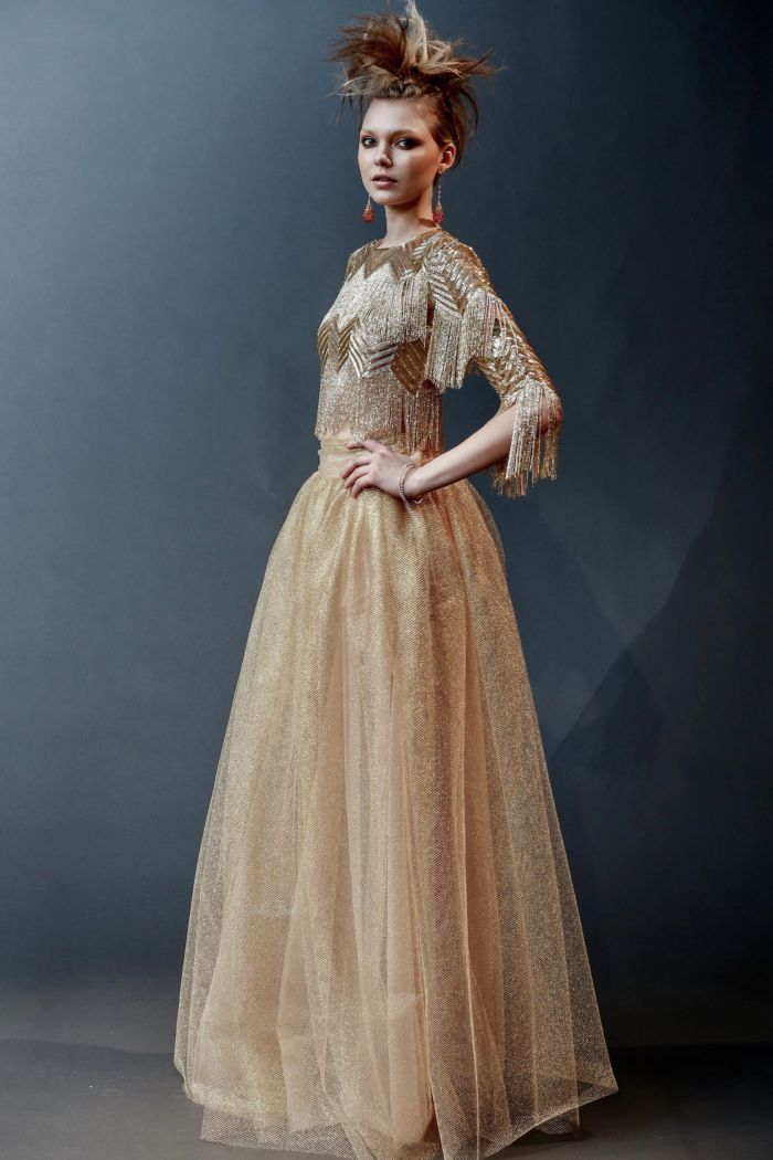 Свадебная мода. Коллекция Naeem Khan