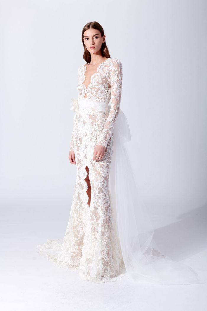 Свадебное платье Oscar de la Renta