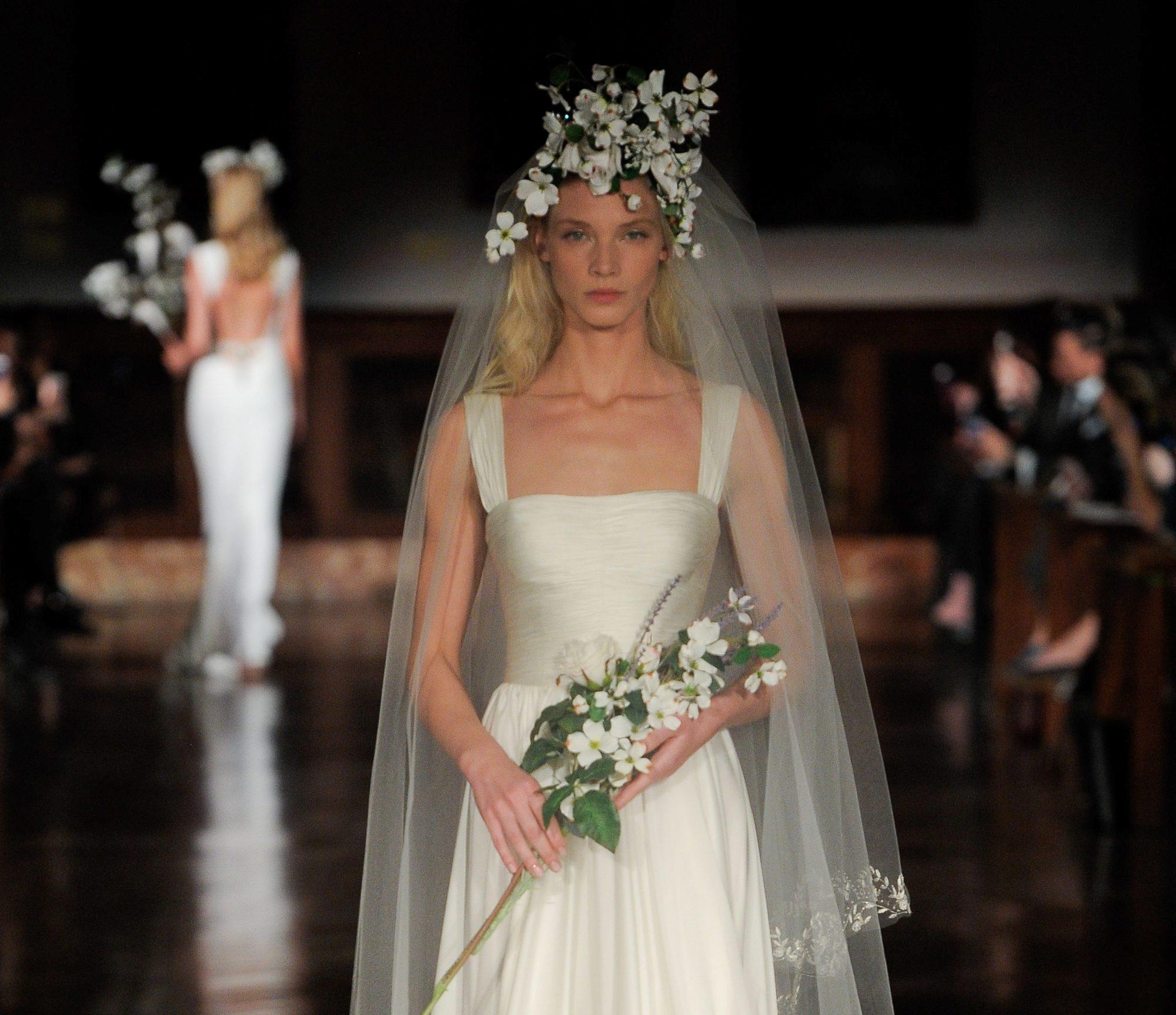 Свадебная мода. Коллекция Reem Acra