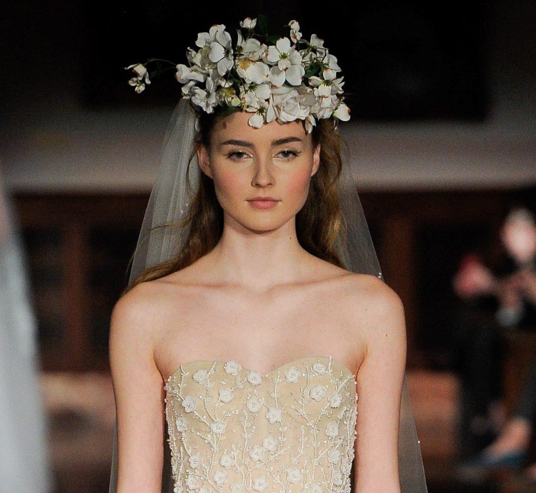 Свадебная прическа Reem Acra