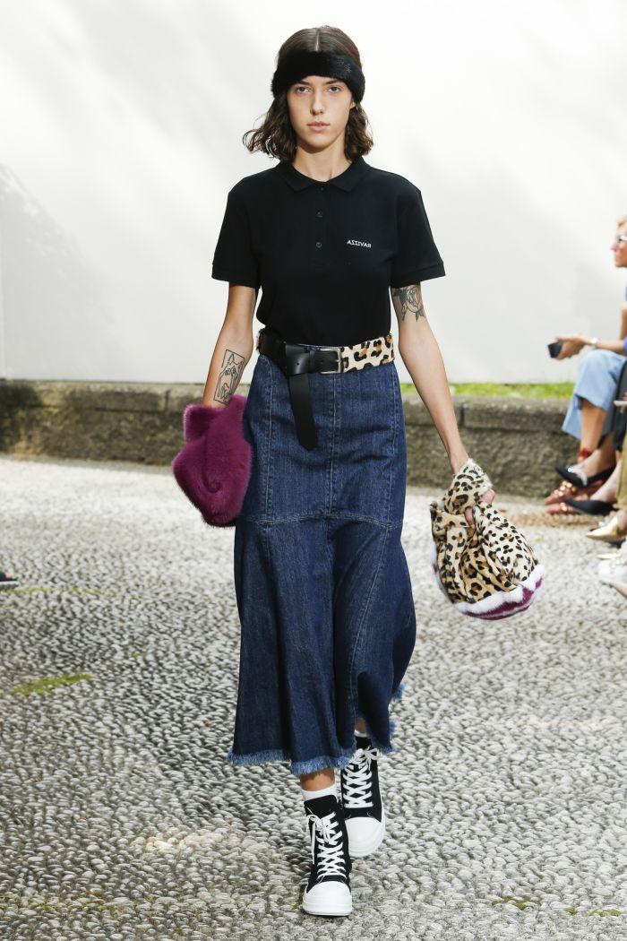 Джинсовая юбка Simonetta Ravizza