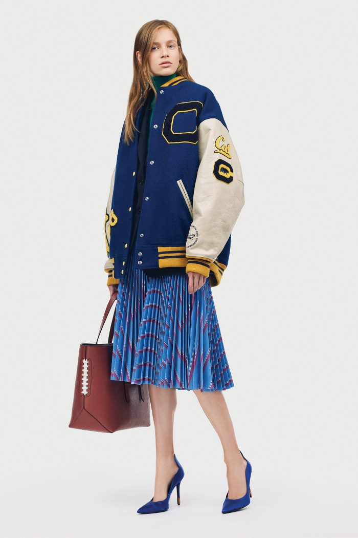 Модная синяя юбка Calvin Klein