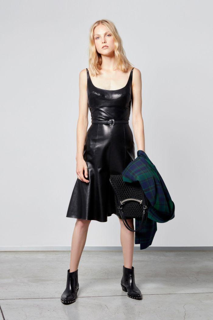 Модное черное платье Ermanno Scervino