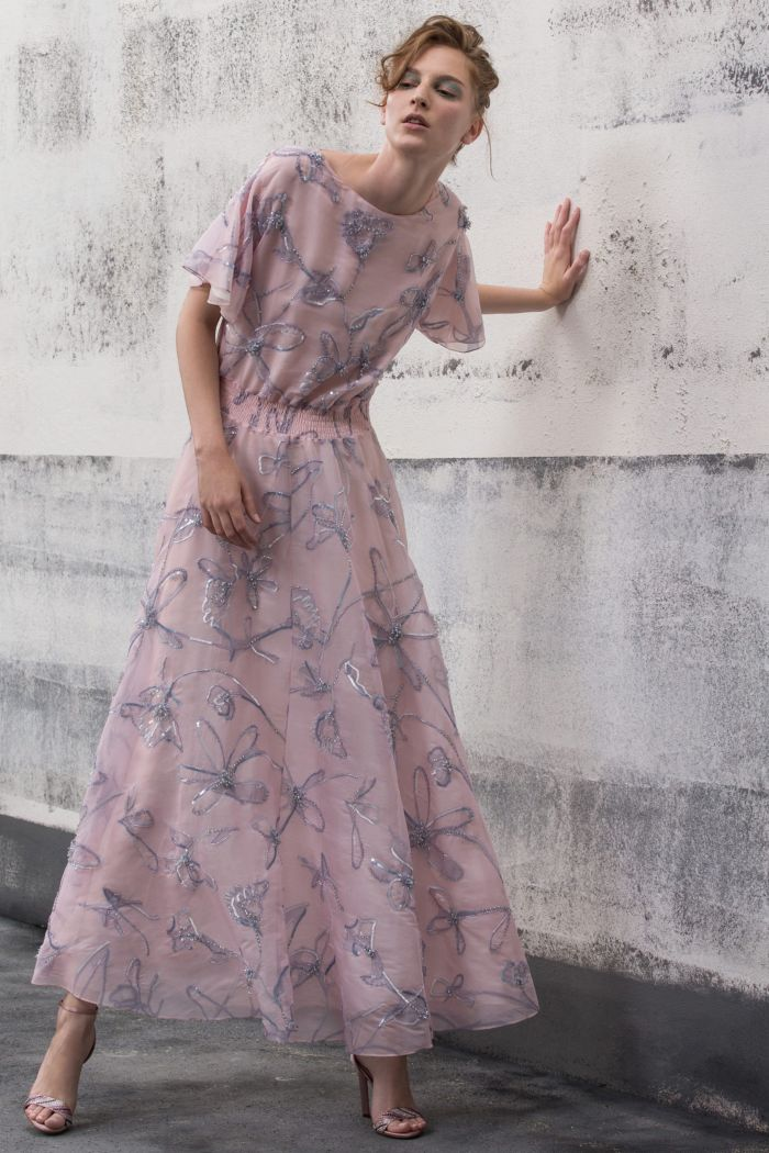 Модное бледное-платье Giorgio Armani