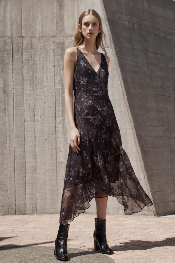 Модное черное платье Grey Jason Wu