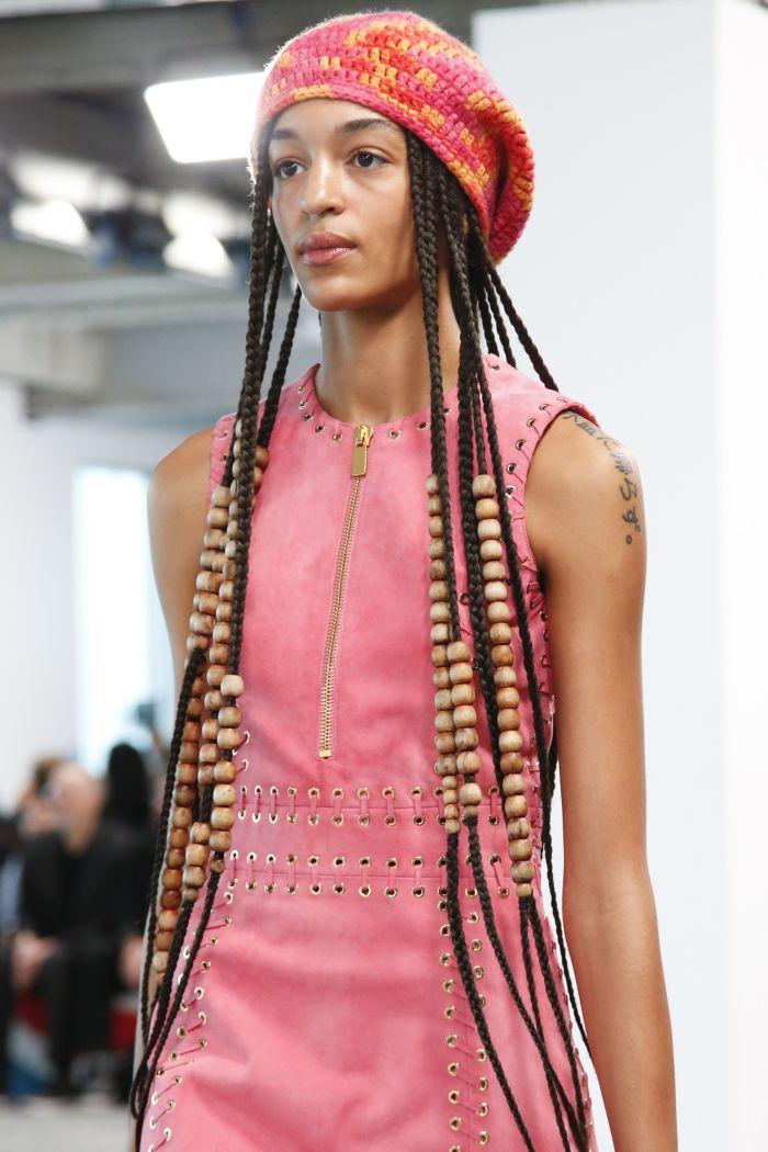 Модное розовое платье Michael Kors Collection