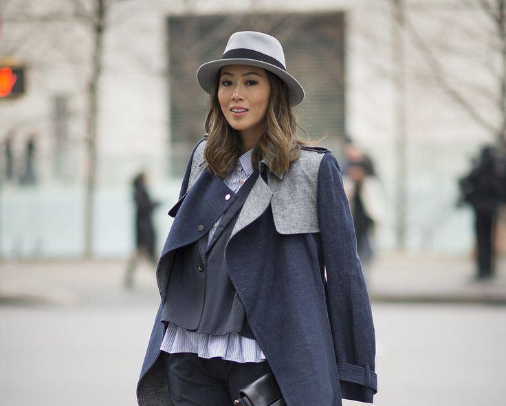 С какой шапкой носить пальто