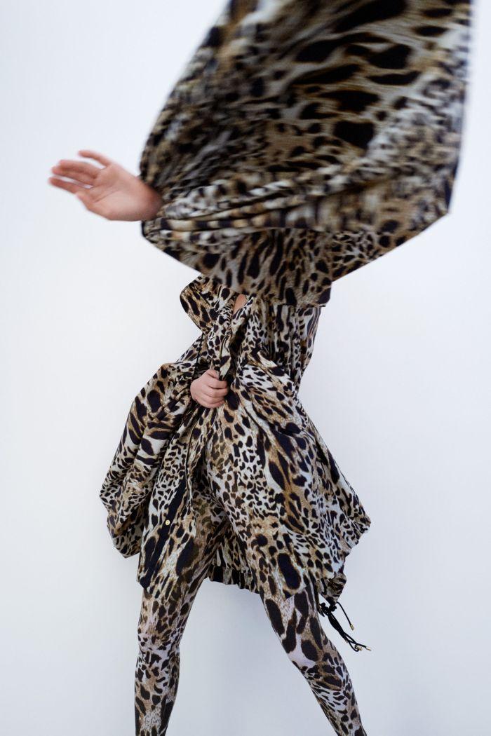 Модное леопардовое платье Alexandre Vauthier