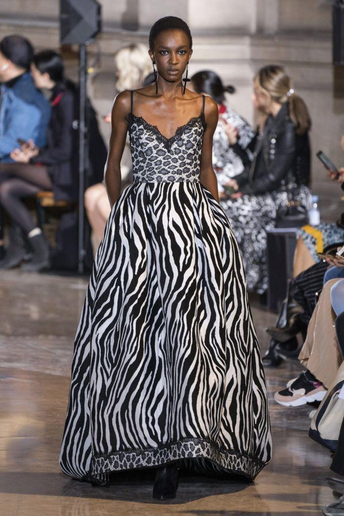 Платье с леопардовым принтом Andrew Gn