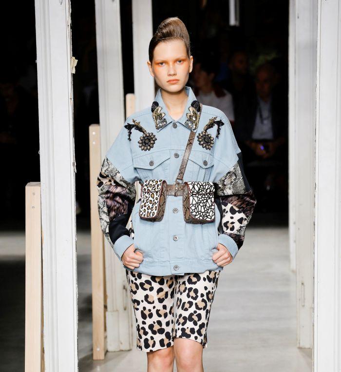 Модная поясная сумка Antonio Marras